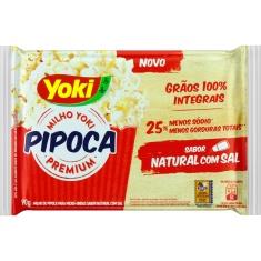 Milho para Pipoca Pop Corn Natural com  Sal Yoki 90g