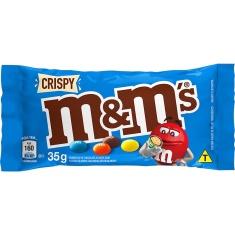 Confeito de Chocolate ao Leite Crispy M&Ms 35g