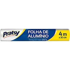Folha de Alumínio Pratsy 30cmX4m