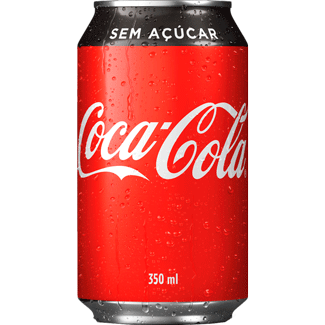 Refrigerante Coca-Cola Zero 350ml