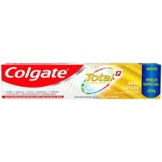 Creme Dental Antitártaro Total 12 Colgate 220g