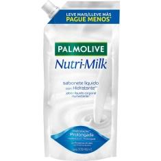 Sabonete Líquido Nutri-Milk Palmolive Refil 500ml
