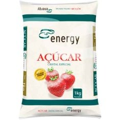 Açúcar Cristal Energy 1kg