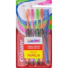 Escova Dental Colors Colgate 5un