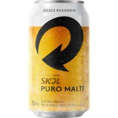 Cerveja Puro Malte Skol 350ml