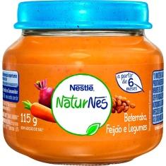 Papinha Sabor Beterraba Caldo de Feijão e Legumes Nestlé 115g