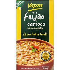 Feijão Carioca Cozido Vapza 500g