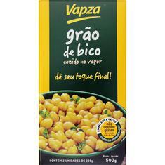 Grão de Bico Cozido Vapza 500g