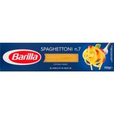 Macarrão Grano Duro Barilla Spaghettoni 7 - 500g
