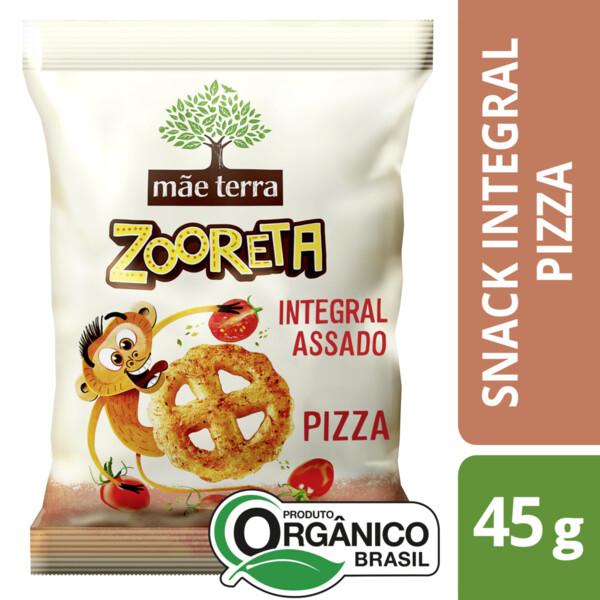 Salgadinho Zooreta Pizza Mãe Terra 45g