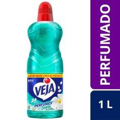 Limpador Perfumado Jasmim do Caribe Veja 1L