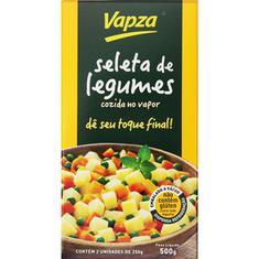 Seleta de Legumes Cozida Vapza 500g