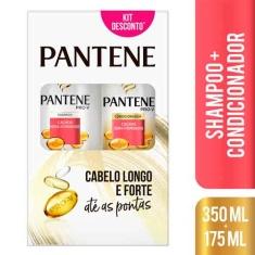 Shampoo + Condicionador Cachos Pantene 350+175ml