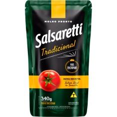 Molho de Tomate Tradicional Refogado Salsaretti Sachê 340g