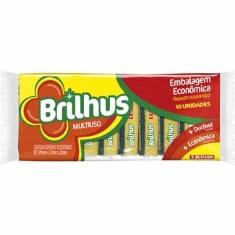 Esponja Brilhus 10un