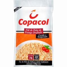 Filé de Peito de Frango Temperado e Cozido Copacol 2kg