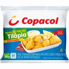 Iscas de Filé de Tilápia Empanadas Copacol 300g
