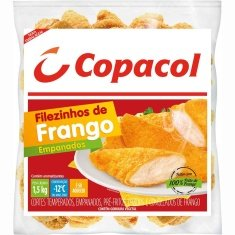 Filézinho de Frango Cozido e Temperado Copacol 1,5kg