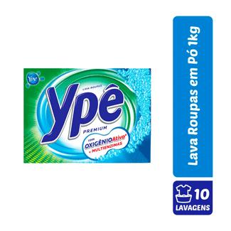 Lava Roupa em Pó Ypê Premium 1kg