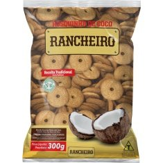 Biscoito Rosca de Coco Rancheiro 300g