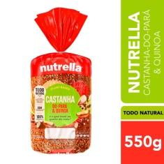 Pão Integral Castanha-do-Pará & Quinoa Nutrella 350g