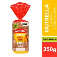 Pão Damasco, Canela & Chia Nutrella 350g