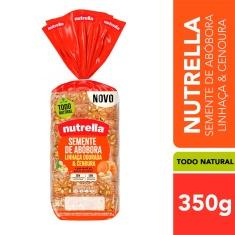 Pão Integral Semente de Abóbora, Linhaça Dourada & Cenoura Nutrella 350g