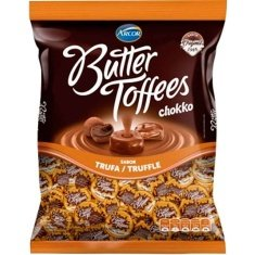 Bala Butter Toffees Chokko Trufa Arcor 500g