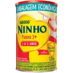 Composto Lácteo em Pó Ninho Fases 1+ Nestlé 1,2Kg
