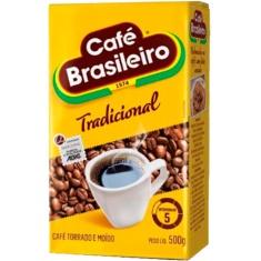 Café Tradicional a Vácuo Brasileiro 500g