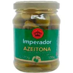 Azeitona Verde com Caroço Imperador 100g