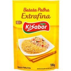 Batata Palha Extrafina Kisabor 100g