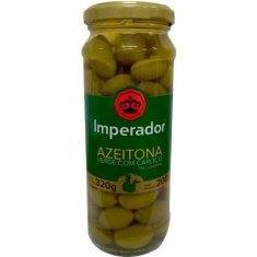 Azeitona Verde com Caroço Imperador 200g