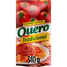 Molho de Tomate Tradicional Refogado Quero 340g
