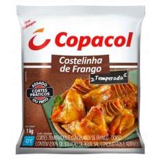 Costelinha de Frango Temperada Congelado Copacol 1Kg