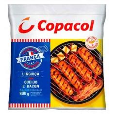 Linguiça de Frango com Queijo e Bacon Copacol 600g