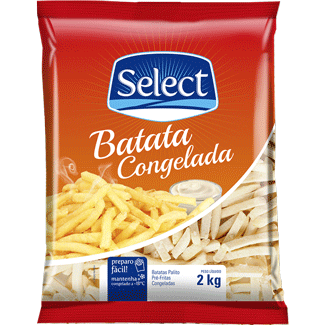 Batata Congelada Select 2kg