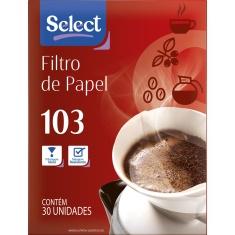 Filtro de Papel 103 Select 30 Unidades