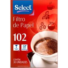 Filtro de Papel 102 Select 30 Unidades