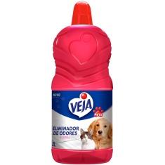 Eliminador de Odores Pets Floral Veja 2L