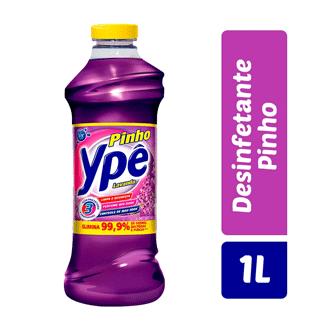 Desinfetante Pinho Lavanda Ypê 1L