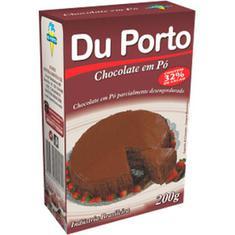 Chocolate em Pó Du Porto 32% 200g