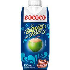 Água de Coco Sococo 330ml