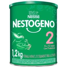 Fórmula Infantil Nestogeno 2 Nestlé 1,2kg