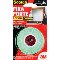 Fita Dupla Face Fixa Forte Extrema Scotch 24mm x 2m