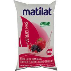 Bebida Láctea Sabor frutas Vermelhas Matilat 900g