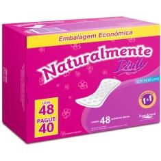 Protetor Diário Daily Naturalmente Leve 48 Pague 40 Unidades