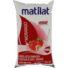 Bebida Láctea Sabor Morango Matilat 900g