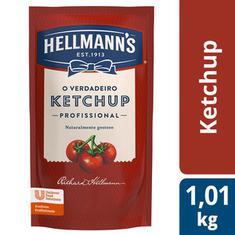 Ketchup Tradicional Hellmann's Sachê 1,01kg