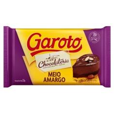 Cobertura De Chocolate Garoto Meio Amargo 2,1Kg
